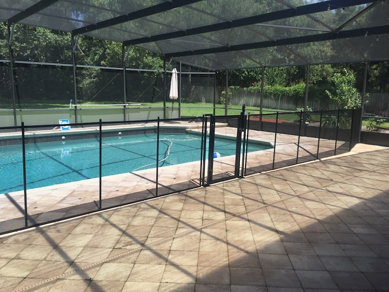Baby Pool Fence Mulberry