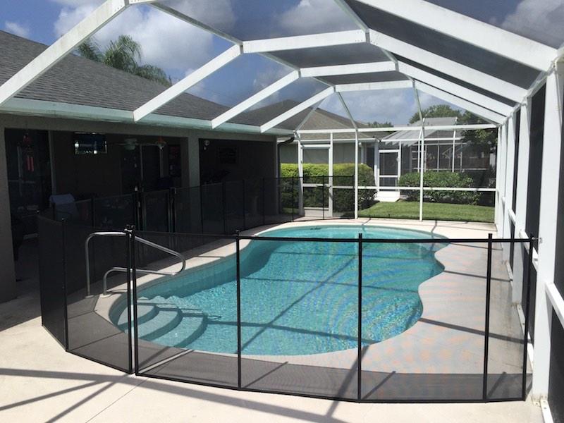 Pool Fence of Mid Florida Lake Placid