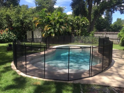 Lake Wales Pool Fence