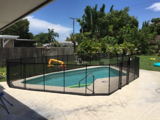 Palm City Pool Fence
