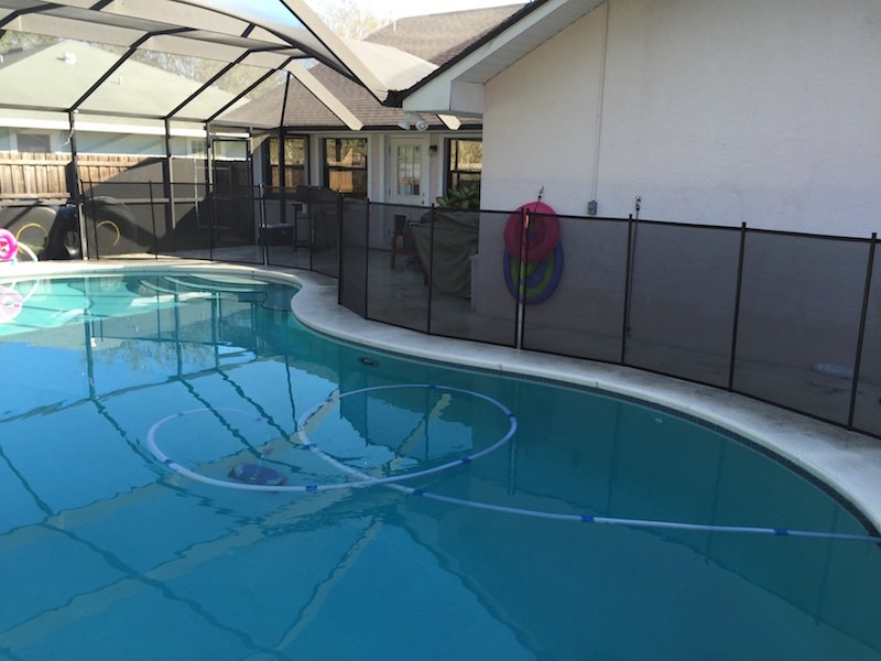 Pool Fence of Mid Florida St Lucie Village
