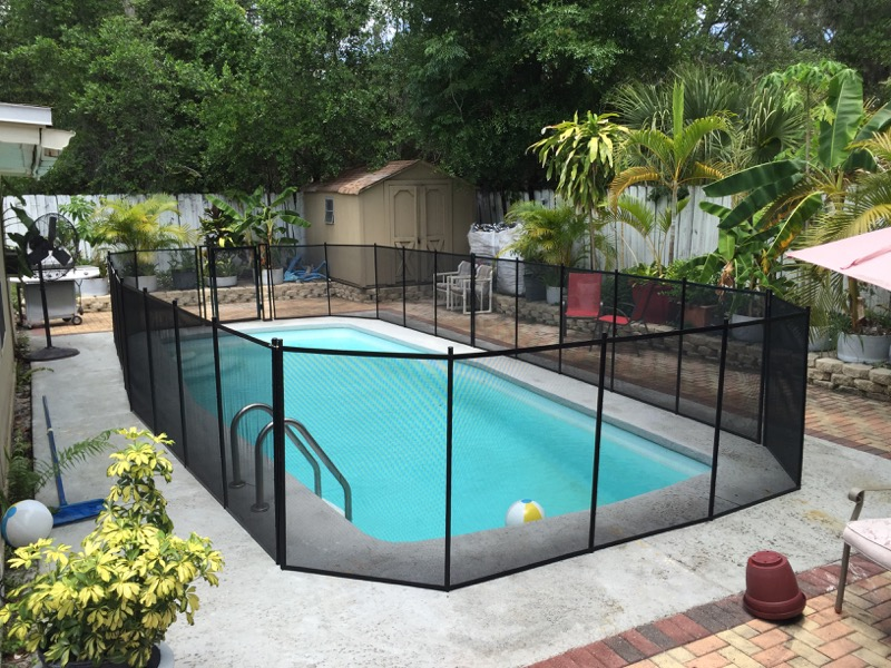 Frostproof Pool Fence