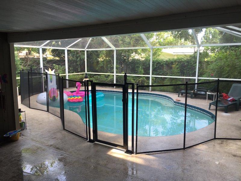 Premium Pool Fence Gate Stuart