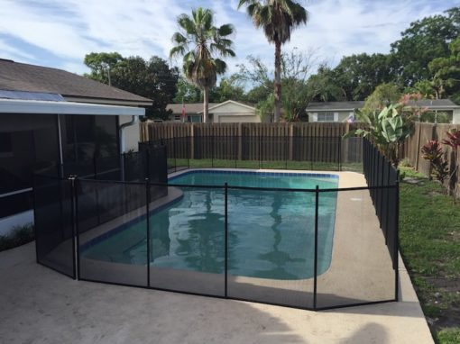 Hobe Sound Pool Fence