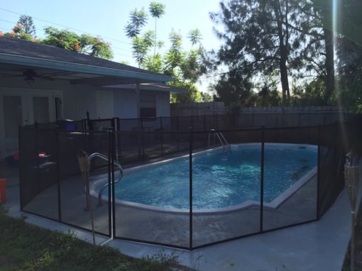 Company Pool Fence