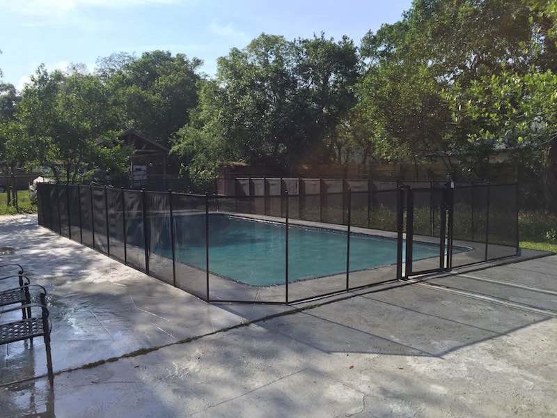 Sanford Family Pool Fence Auburndale