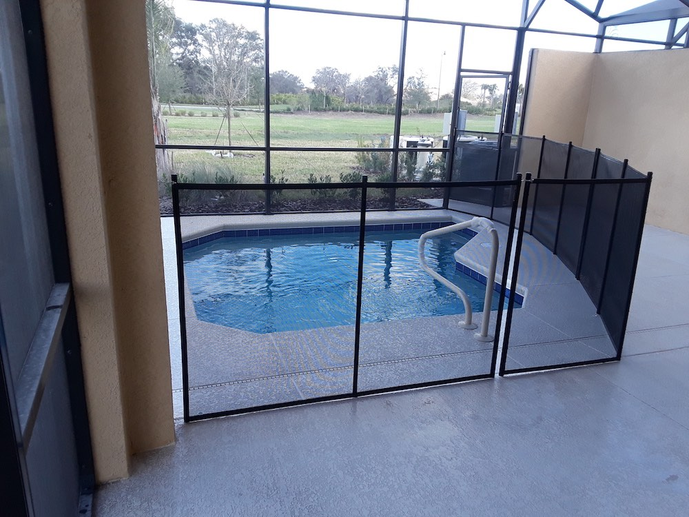 Davenport Custom Pool Fence Install