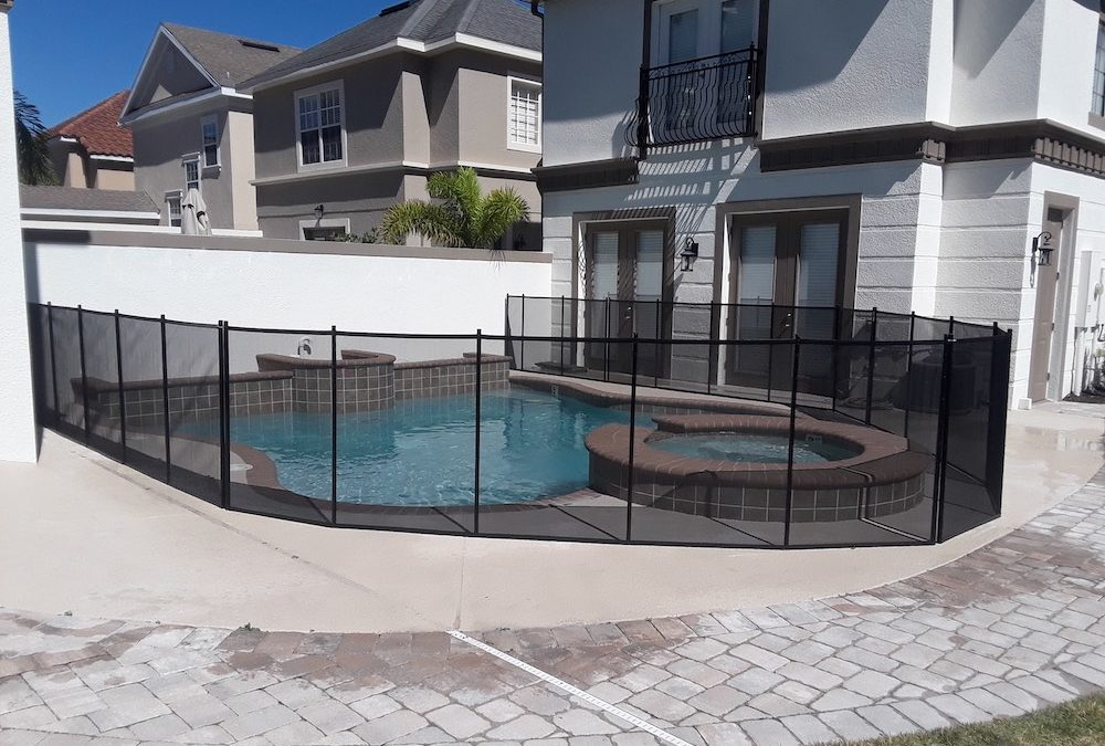 Kissimmee Swimming Pool Safety Fence