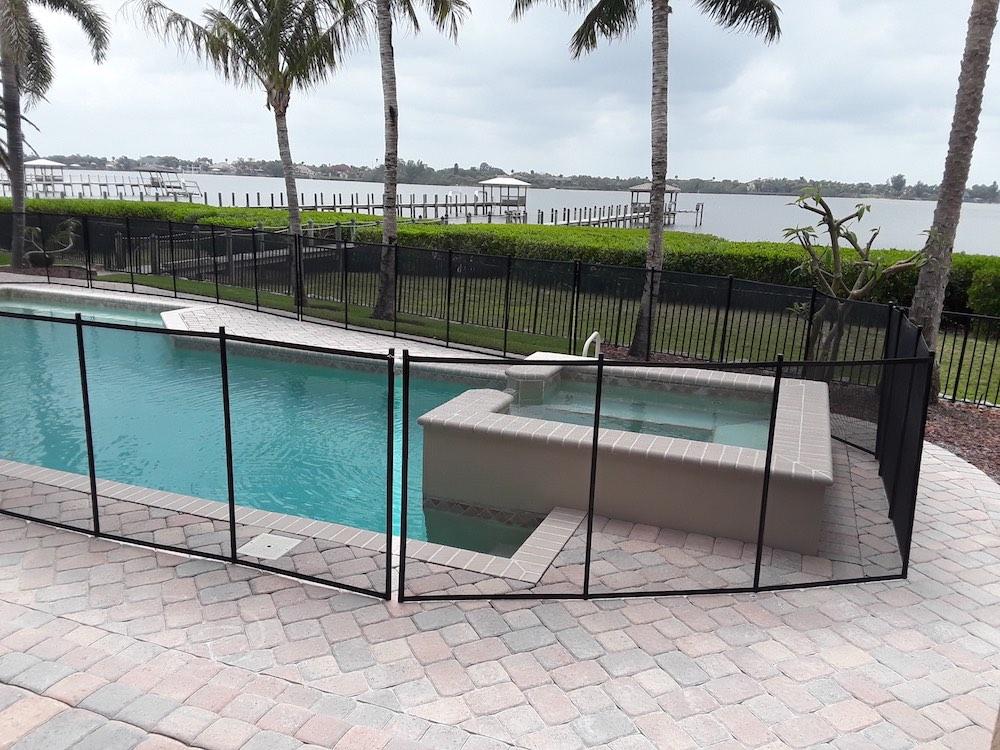 Vero Beach Florida Pool Safety Fence