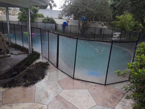 Auburndale Baby Pool Fence