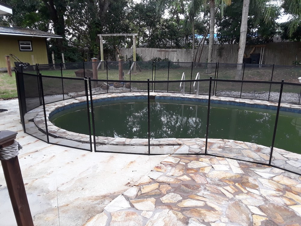 Winter Haven Top Pool Fence