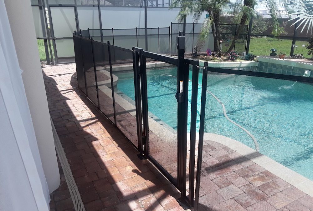 Polk City Pool Fence