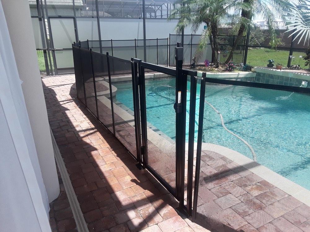 Polk City Pool Fence Gate