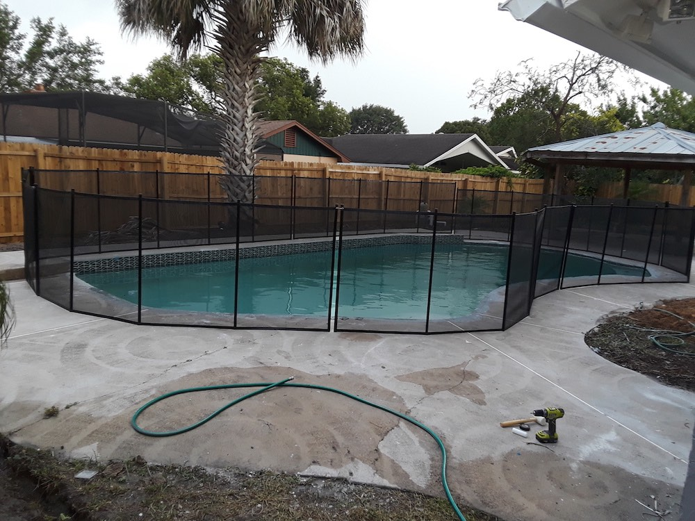 Bartow Baby Pool Fence
