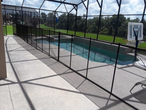 Top Pool Fence