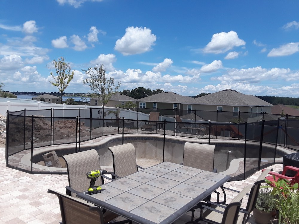 Davenport Swimmings Pools Fence