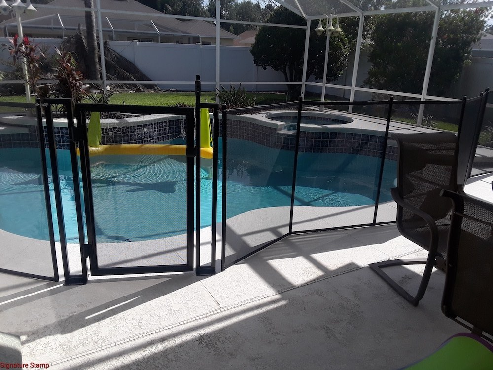 Lake Wales Swimming Pool Fence