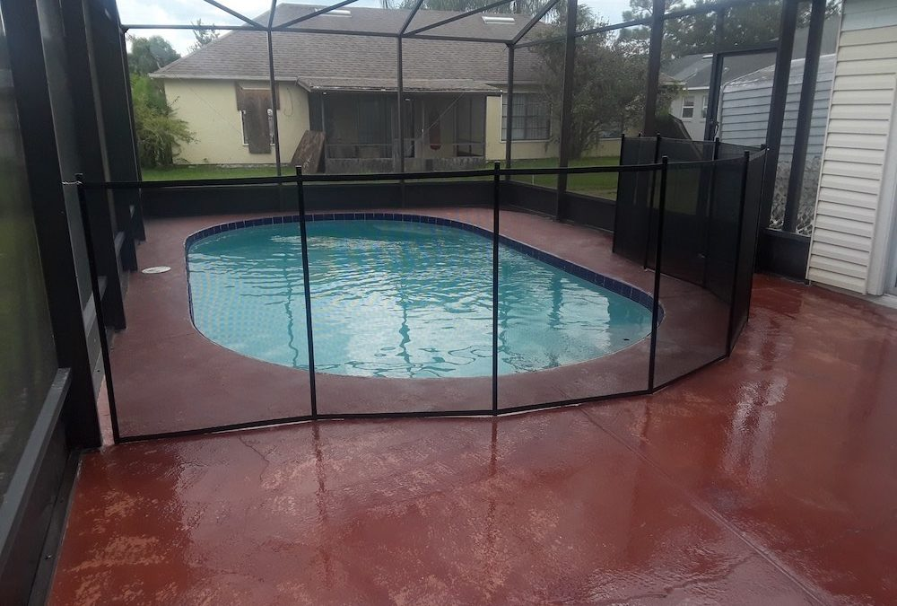 Mulberry Fences Swimming Pool
