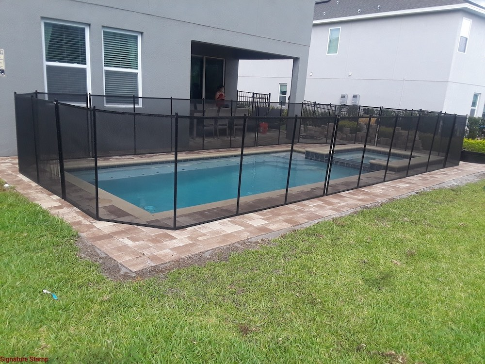 Swimming Pool Davenport - Baby Barrier® Pool Fence of Mid Florida