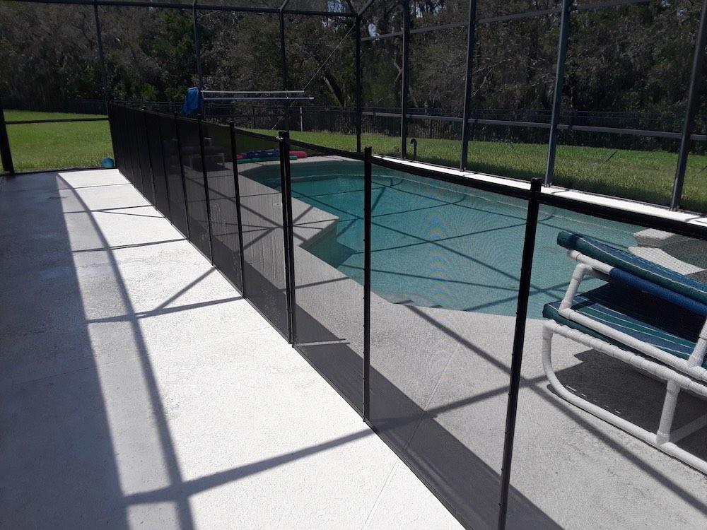 Davenport Baby Pool Fence