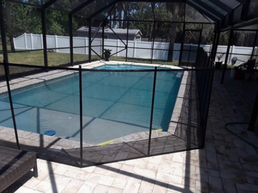 Winter Haven Baby Pool Fence