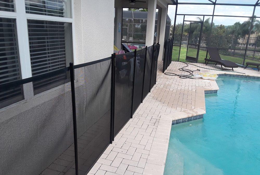 Davenport Vacation Home Pool Fence