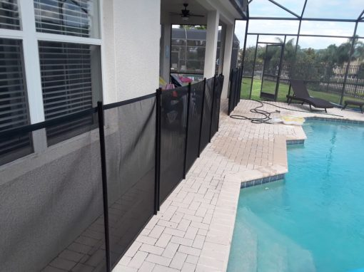 Davenport Vacation Home Pool Fence