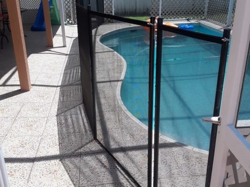Poinciana Pool Fence