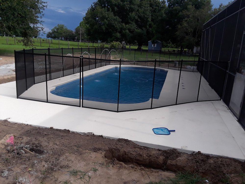 Lake Placid Safety Pool Fence