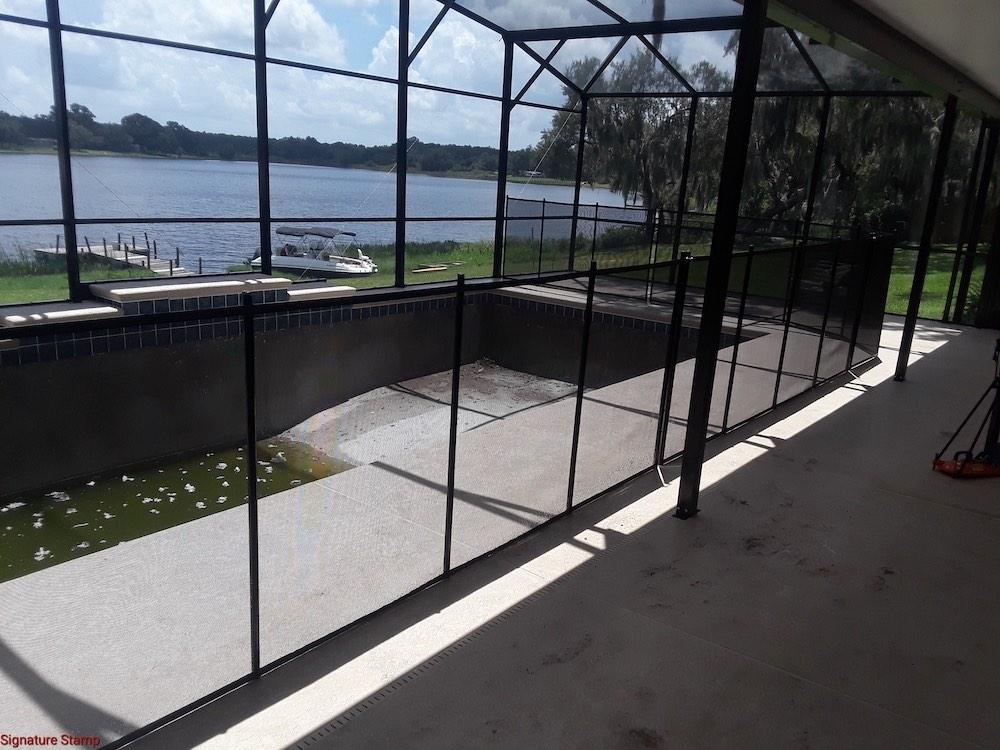 Lakeland Baby Pool Fence