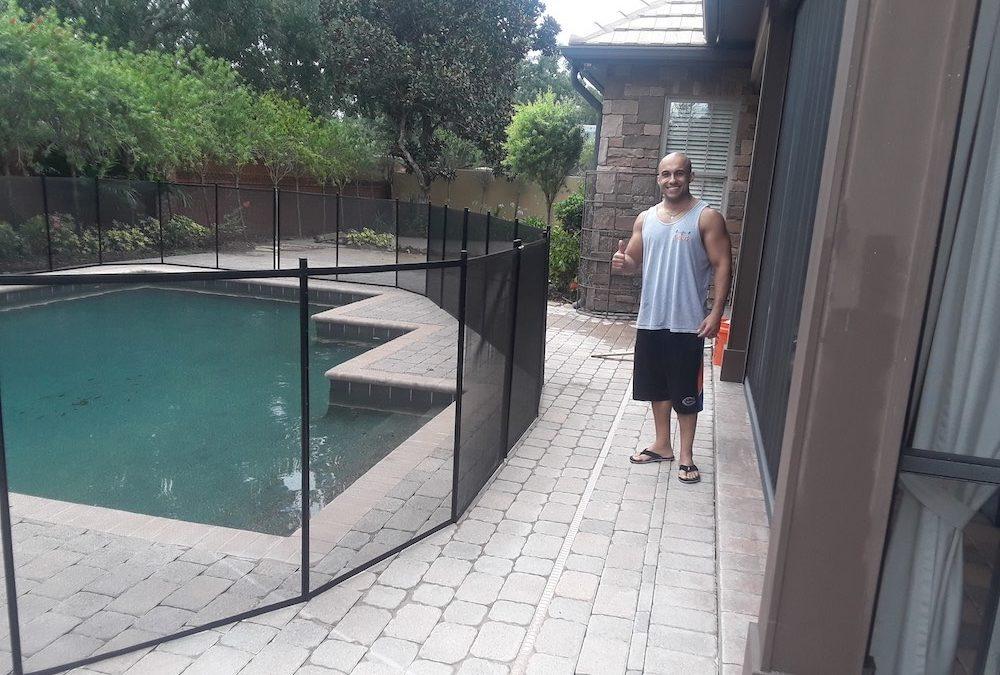Baby Pool Fence Lakeland