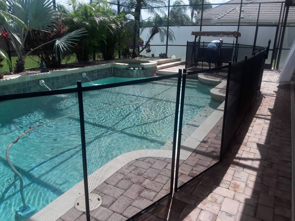 Polk City FL Pool Fences