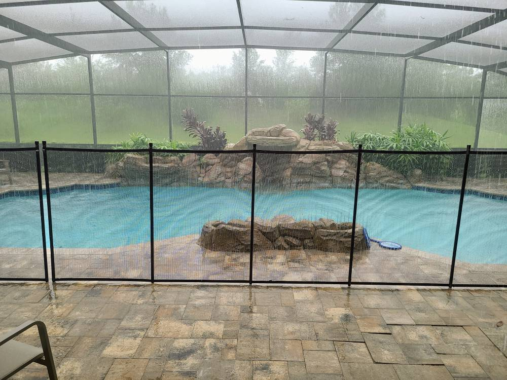 Clermont Florida Pool Fence Installation