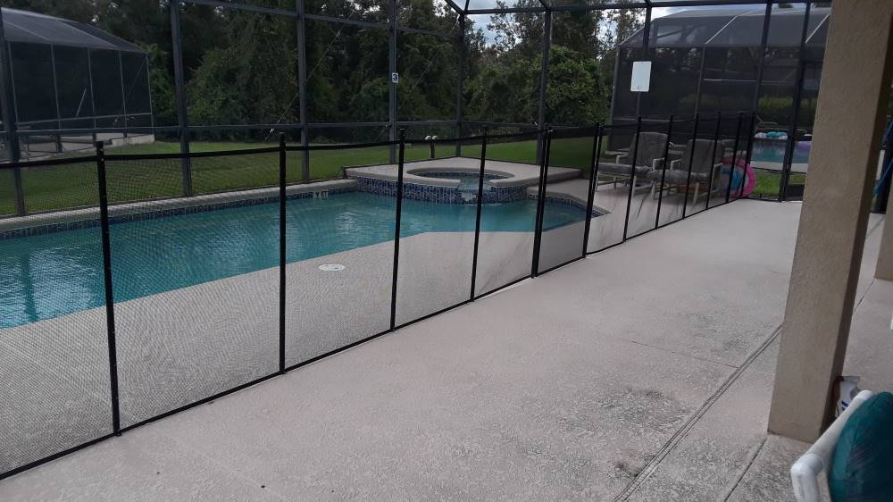 Avon Park Pool Fence Installation