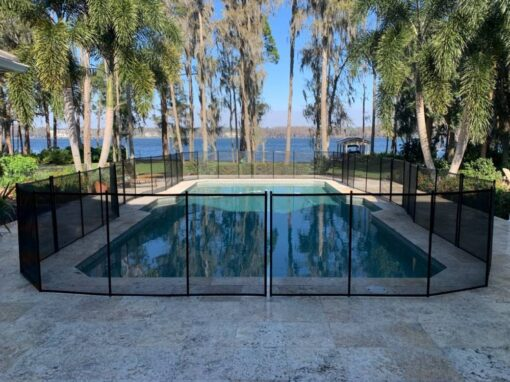 Clermont Pool Fence Installs