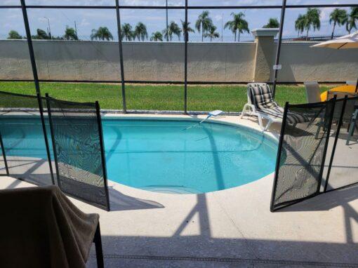 Davenport Pool Fence Installs