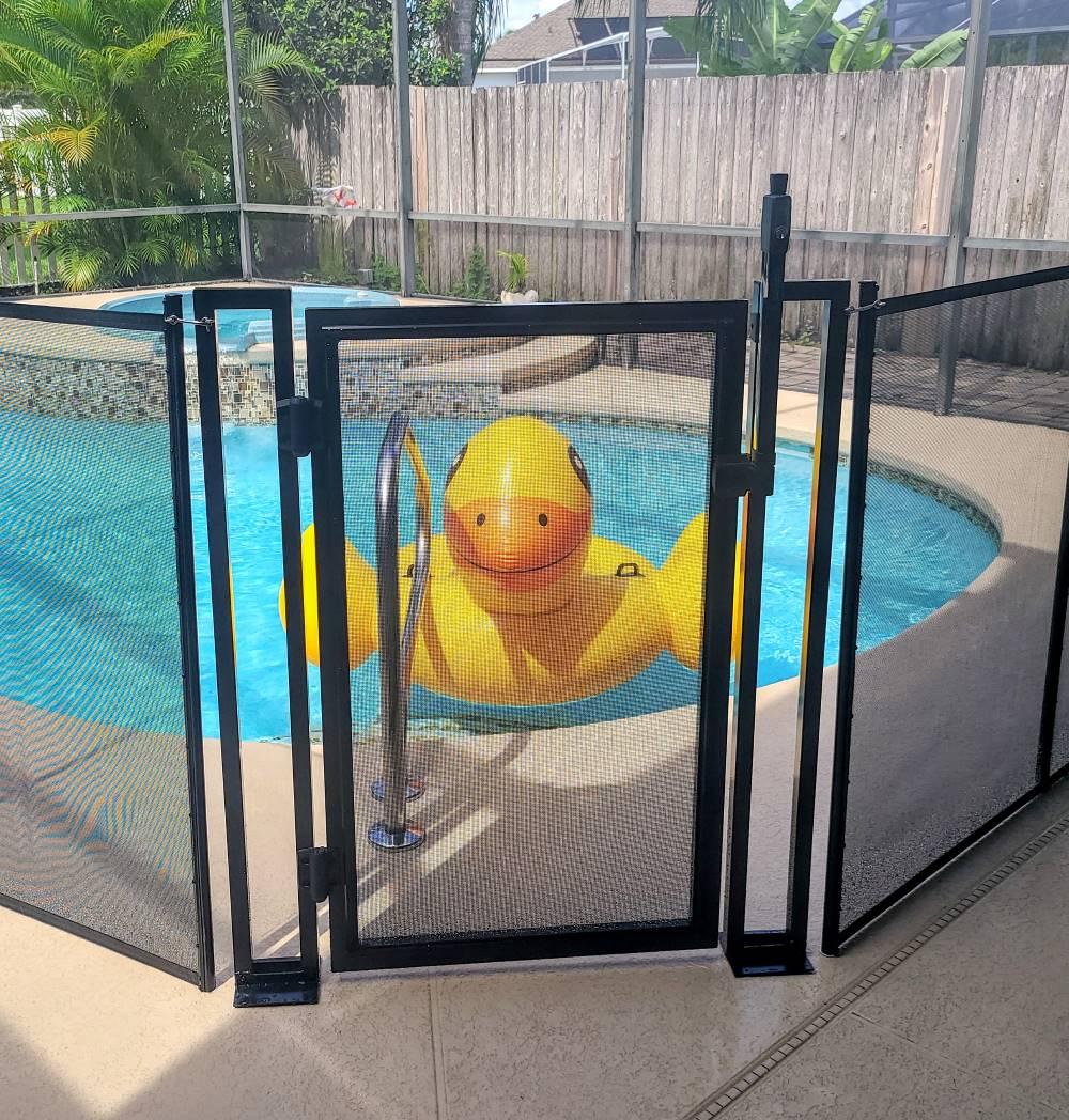 Florida Davenport Pool Fence Install