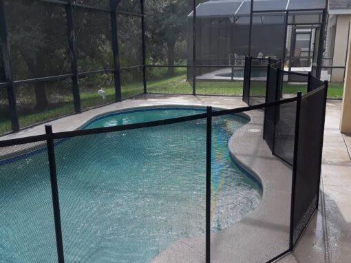 Davenport Pool Fence Install