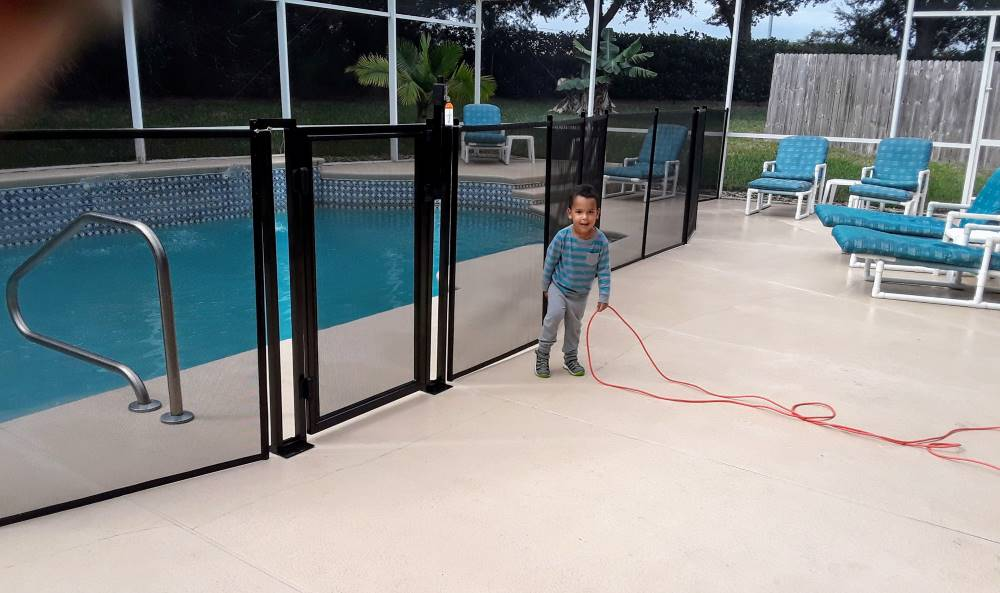 Davenport Family Pool Fences