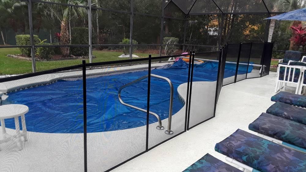Kissimmee FL Pool Fence Installs
