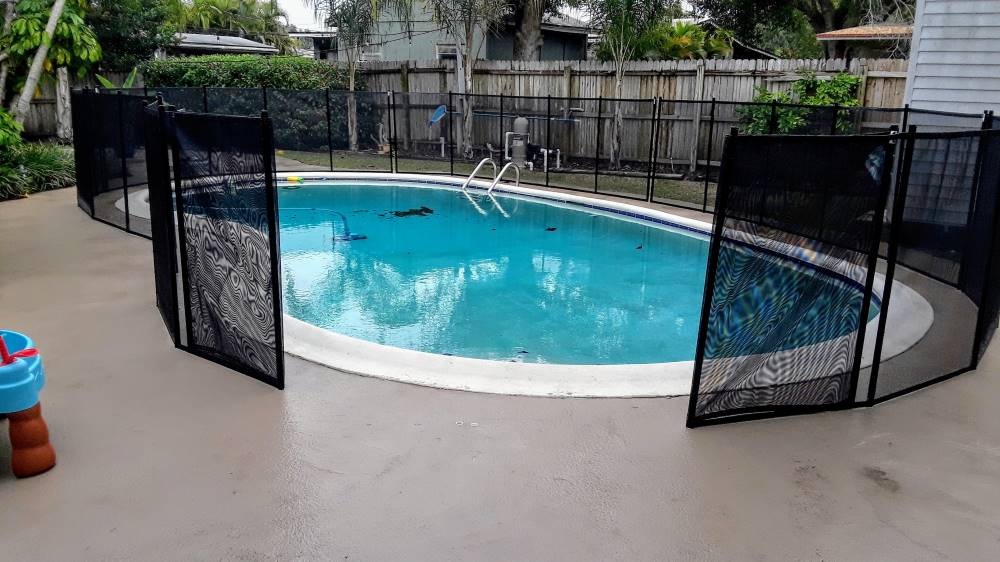 Kissimmee Florida Pool Guard Fence