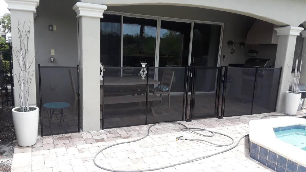 Dr. Phillips Pool Fence Installs