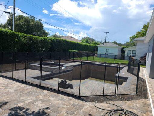 Lake Wales Florida Pool Fence